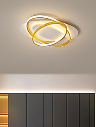 cheap -LED Ceiling Light 45 cm Circle Design Flush Mount Lights Aluminum Modern Style Stylish Painted Finishes LED Modern 220-240V