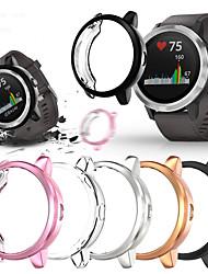 cheap -Cases For Garmin Garmin Venu / Garmin Vivoactive 4 / Garmin Vivoactive 4S TPU Screen Protector Smart Watch Case Compatibility 44mm