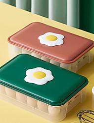 cheap -28 Grid Kitchen Storage Egg Box Refrigerator Fresh-keeping Box Portable Food Storage Box Egg Tray Box