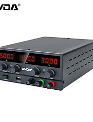 cheap -GVDA USB DC Regulated Laboratory Power Supply Adjustable 30V 10A Voltage Regulator 60V 5A Stabilizer Switch Bench Power Source