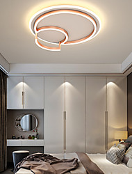 cheap -LED Ceiling Light 50 cm Circle Design Flush Mount Lights Acrylic Artistic Style Modern Style Fairytale Theme Gold Modern Nordic Style 220-240V