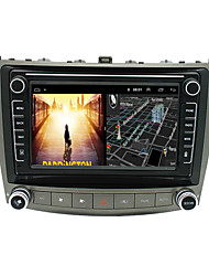 cheap -Android 9.0 Autoradio Car Navigation Stereo Multimedia Player GPS Radio 8 inch IPS Touch Screen for Lexus IS250 1G Ram 32G ROM Support iOS System Carplay