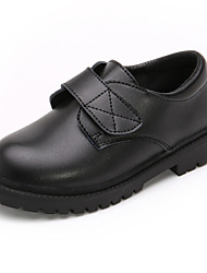 cheap -Boys' Flats Comfort Children's Day School Shoes Leather Breathability Wedding Casual / Daily Dress Shoes Little Kids(4-7ys) Big Kids(7years +) Daily Party & Evening Buckle Black Fall Winter