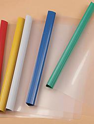cheap -thickened drawing rod clip a4 tie rod clip transparent folder report folder resume folder test paper folder file cover wholesale customization