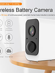 cheap -Wire Free Indoor/Outdoor Security Cameras Rechargeable Battery Wireless IP Cam 1080P Wifi IP Security Cameras Home Surveillance System PIR
