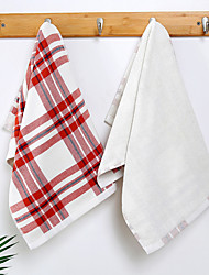 cheap -1 Pc 100% Cotton Premium Ring Spun Hand Kitchen Shower Towel(Set) Machine Washable Super Soft Highly Absorbent Quick Dry For Bathroom Hotel Spa Solid  33x68cm