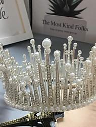 cheap -Bridal Headdress Round Crown Full Ring Head Crown Full Circle Crown Crown Hair Accessories Wedding Dress Hair Accessories Accessories