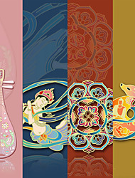 cheap -Inspirational Creative Colored animals flowers Bookmarks for Women Page Markers for Students Teachers Reading