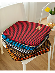 cheap -Floor Pillow Seat Cushion Chenille Classic Houndstooth Thickened Prevent Slip Chenille Chair Cushion Home Office Seat Bar Dining Chair Seat Pads Garden Floor Cushion