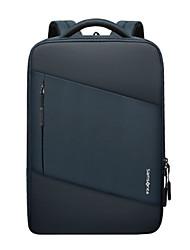 cheap -Commuter Backpacks Plastics / Nylon Fiber Solid Color for Men for Women for Business Office