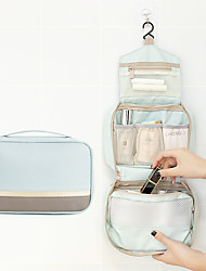 cheap -Storage Organization Cosmetic Makeup Organizer Mixed Material Rectangle Shape Portable / Multilayer 23*15*9CM