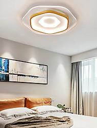cheap -LED Ceiling Light 40/50/60 cm Circle Design Flush Mount Lights Aluminum Artistic Style Modern Style Stylish Painted Finishes LED Modern 220-240V