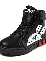 cheap -Ankle Boots Casual / Daily Fashion Boots Big Kids(7years +) Black (big cotton) Red (big cotton) Black