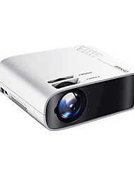 cheap -W60 LED Projector WIFI Projector Keystone Correction Dobby Audio WiFi Bluetooth Projector 1080P (1920x1080) 11500 lm Android 10.0 Compatible with TV Stick HDMI USB