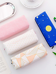 cheap -Pencil  pen  Case box back to school gift Popular Simple Stationery Bag Holder zippe 17.5*4.5*6 cm