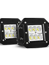 cheap -OTOLAMPARA New Highlight 30W XBD LED Work Light 4x4 Offroad SUV ATV UTV Bumper Work Lights A Pillar Installation 4WD Work Lights White 2pcs