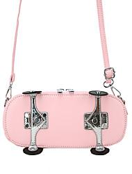 cheap -Women's Bags PU Leather Crossbody Bag Daily 2021 Yellow Blushing Pink Khaki Brown