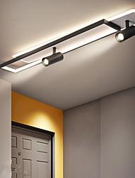 cheap -LED Ceiling Light 80/100 cm Dimmable Geometric Shapes Flush Mount Lights Aluminum Modern Style Stylish Geometrical Painted Finishes LED Modern 220-240V