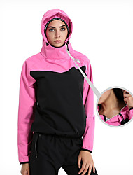 cheap -Sauna Suit Sports Spandex Lycra Polyster Yoga Fitness Gym Workout Stretchy Hot Sweat For Women / Adults'