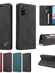 cheap -Phone Case For Xiaomi Full Body Case Xiaomi Poco X3 NFC Redmi K30S Redmi Note 9 4G Redmi Note 9 5G Redmi Note 8T Redmi 10X 4G Redmi 9C Redmi 9 Prime Mi 11 Pro Mi 11 Lite Wallet Card Holder Shockproof