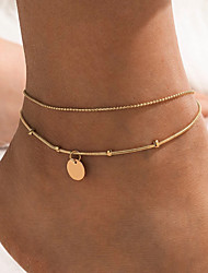 cheap -Leg Chain Natural Sexy Classic Women's Body Jewelry For Anniversary Gift Classic Alloy Gold