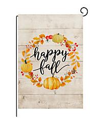 cheap -thanksgiving garden flag 2021 autumn pumpkin letter printing linen flag garden decoration banner cross-border home furnishing