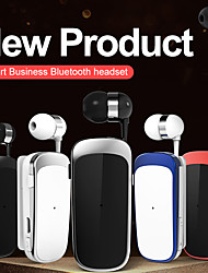 cheap -K52 Collar Clip Bluetooth Headset Bluetooth5.0 Ergonomic Design Retractable in Ear for Apple Samsung Huawei Xiaomi MI  Everyday Use Traveling Outdoor Mobile Phone