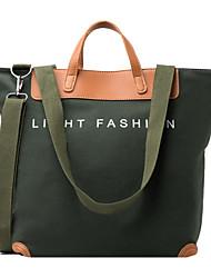 cheap -Women's Bags Canvas Crossbody Bag Zipper Daily Outdoor 2021 Canvas Bag Tote Gray Khaki Green White