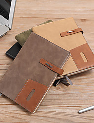 cheap -Faux Leather Journal Notebook back to school gift office Diary Planner Agenda Sketchbook Suitable