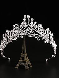 cheap -Bride Crown Headdress Korean Temperament Beautiful Crown Hair Dress Wedding Dress Birthday Party Accessories