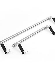 cheap -nail-free door rear hook towel rack can be hung bath towel rod free perforated rack single-bar cabinet bathroom rack