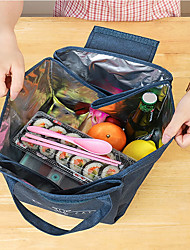 cheap -Household Portable Fresh-keeping And Cold Preservation Picnic Bag Hot Pot Takeout Bag Thickened Aluminum Foil Insulation Bag 18*18*22cm