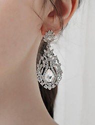 cheap -Women's Stud Earrings Drop Earrings Hoop Earrings Retro Drop Stylish Artistic Simple Vintage Sweet Earrings Jewelry Silver For Party Wedding Holiday Engagement Festival 2pcs