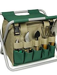 cheap -Detachable Garden Tool Folding Stool Multifunctional Garden Tool Storage Bag Gardening Stool