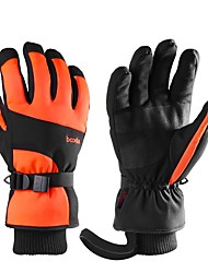 cheap -Ski Gloves Snow Gloves for Women Men Touchscreen Thermal Warm Waterproof PU Leather Full Finger Gloves Snowsports for Cold Weather Winter Skiing Snowboarding