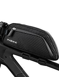 cheap -INBIKE Bike Frame Bag Top Tube Reflective Rain Waterproof Bike Bag Polyester 210D Nylon Bicycle Bag Cycle Bag Similar Size Phones Null
