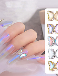 cheap -5 Pcs/Set Crystal Insect Jewelry Stickers for Nails Art Decoration Fashion Animal Nail Accessories for Manicure Design