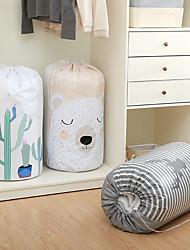 cheap -Large Cotton Quilt Storage Bag Plush Toy Clothing Goods Sorting Bag Dust Bag Environmental Protection Cotton Quilt Bundle Storage Bag 82*43cm