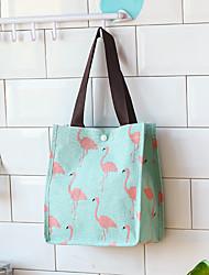 cheap -Canvas Handbag Portable Waterproof Linen Shopping Bag Woman Carrying Book Bag Sundry Large Capacity Bag Bento Bag Woman 26*15*30cm
