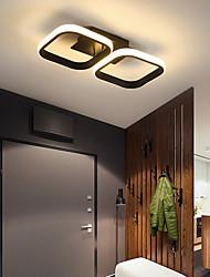 cheap -2-Light 3-Light 34.5/52.5 cm Dimmable Geometric Shapes Flush Mount Lights Aluminum Silica gel Modern Style Metal Painted Finishes LED 110-120V 220-240V
