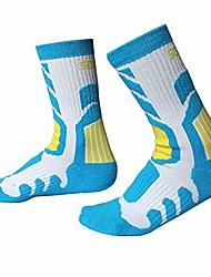 cheap -1 pair outdoor sports socks children anti-slip anti-sweat breathable roller skating skiing cycling hosiery footwear accessories