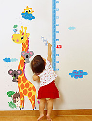 cheap -Giraffe Height Paste Children'S Room Kindergarten Porch Decorative Wall Paste Pvc 60*90cm