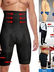 cheap -Men Slimming Body Shaper Waist Trainer High Waist Shaper Control Panties Compression Underwear Tummy Tummy Shaper Shorts