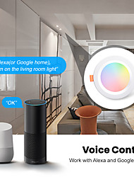 cheap -Smart Lights TY-LED-B3 for Daily / Living Room / Study APP Control / Timing Function / Built-in Bluetooth WIFI Bluetooth4.1 110-240 V / 100 V