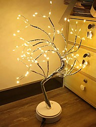 cheap -LED Night Light Tabletop Bonsai Tree Light with 108 LED Copper Wire String Lights Touch Switch DIY Artificial Tree Lamp USB or Battery Powered for Bedroom Desktop Christmas Party Indoor Decoration Lights