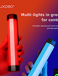 cheap -LUXCEO P200 IP67 Rainproof RGB Tube Built-in Battery & Magnet With APP Control LED Video Light For Studio Photo Product Lighting