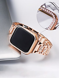 cheap -Watch Band for Apple Watch Series 6/SE/5/4/3/2/1 Apple Jewelry Design Stainless Steel Wrist Strap