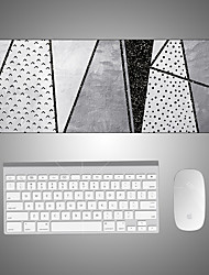 cheap -Large Popular Black Gaming writing  Mouse Pad back to school gift office Non-Slip Base Water Resist Keyboard Pad Desk Mat