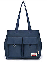 cheap -13.3 Inch Laptop / 14 Inch Laptop / 15.6 Inch Laptop Briefcase Handbags Polyester Solid Color for Men for Women for Business Office Waterpoof Shock Proof
