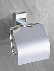 cheap -Toilet Paper Holder New Design Stainless Steel Paper Roll Holders Wall Mounted Silvery